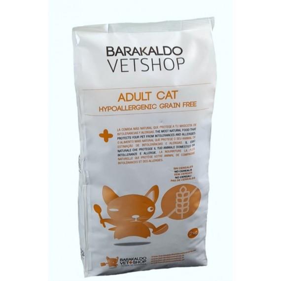 Alimento Adult Cat Hypoallergenic Grain Free Barakaldo Vet Shop - 1