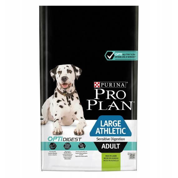 Pro Plan Large Adult Athletic Optidigest Cordero 14 kg - 1