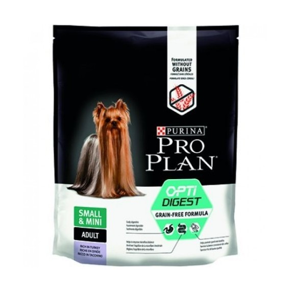 Pro-Plan-Optidigest-Grain-free-Pavo-Perros-Adultos-Pequeños-y-Mini