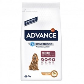 Advance Medium Senior Chicken & Rice 3 kg - 1