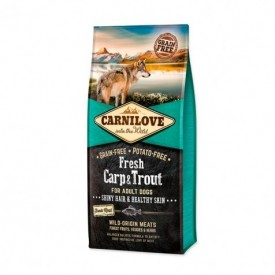 Carnilove-Canine-Adult-Fresh-Carpa-&-Trucha-Hair-Skin