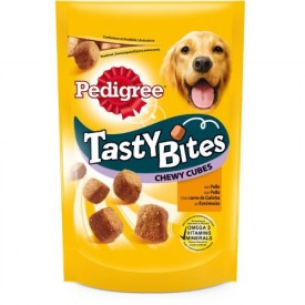 Pedigree Tasty Bites Chewy Cubes Aves - 1