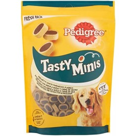 Pedigree Tasty Minis Ternera y Queso - 1
