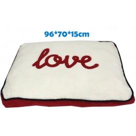 Colchón Mullido Love Letras 96 x 70 x 15 cm - 1