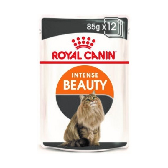 Royal Canin Gato Intense Beauty Pouch Gelatina - 1