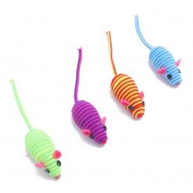 Ratón-para-Gatos-Multicolor-con-Sonido