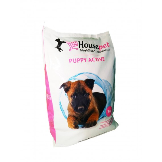 Alimento Puppy Active Housepet - 1