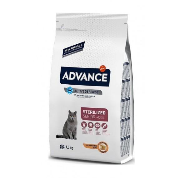 Advance Gatos Esterilizados +10 - 1