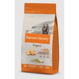 Nature`s Variety Original con Pollo y Arroz Integral Medium/Maxi Adult - 1