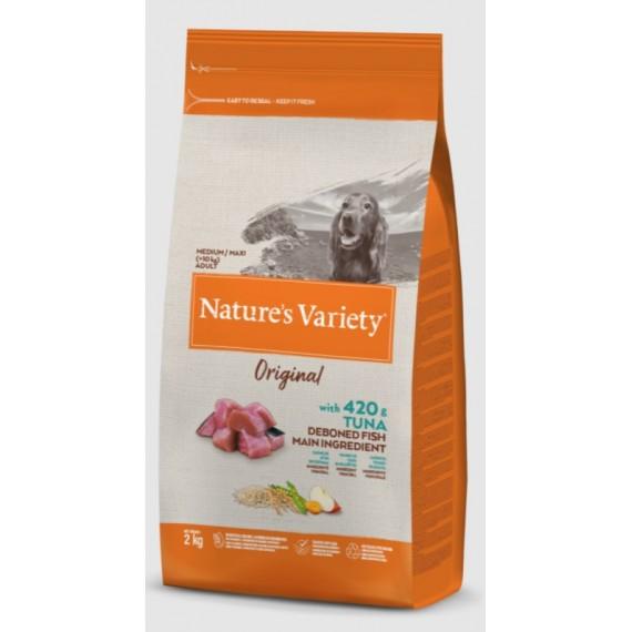 Nature`s Variety con Atún Medium/Maxi Adult - 1
