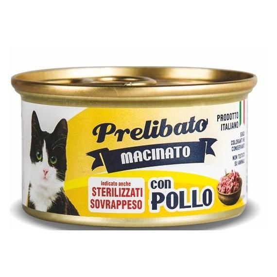 Prelibato Gato Sterilized Pollo Lata - 1