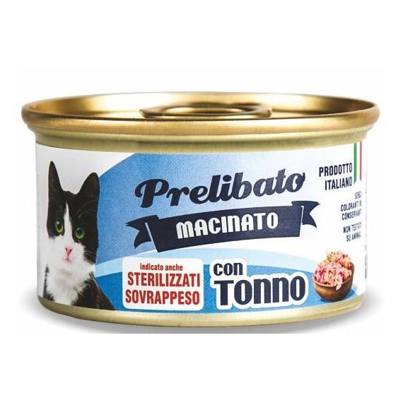 Prelibato Gato Sterilized Atún Lata - 1