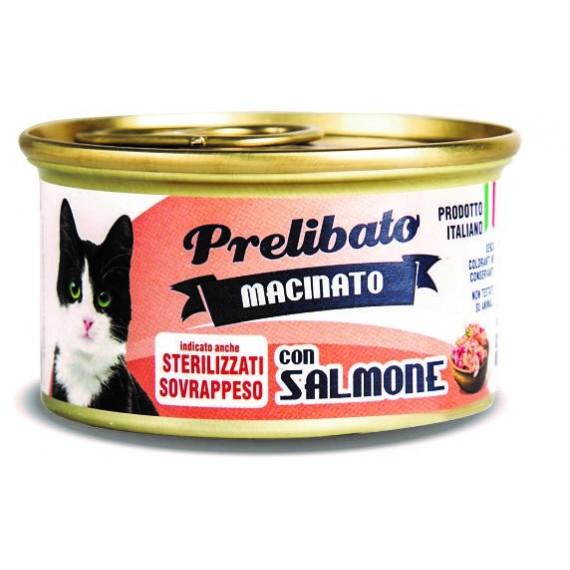 Prelibato Gato Sterilized Salmón Lata - 1