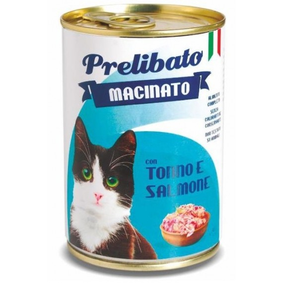 Prelibato Gato Atún y Salmón Lata - 1