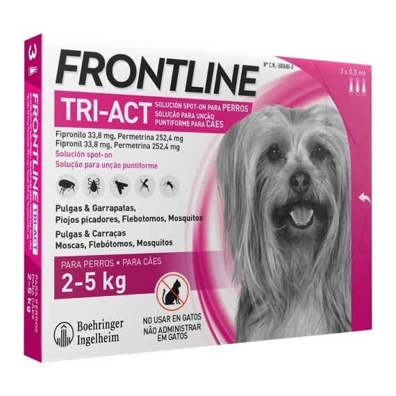 Frontline Tri-Act (2-5 kg) - 1
