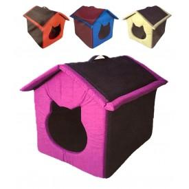 Caseta para Perros y Gatos 45 x 45 x 47 cm Housepet - 1
